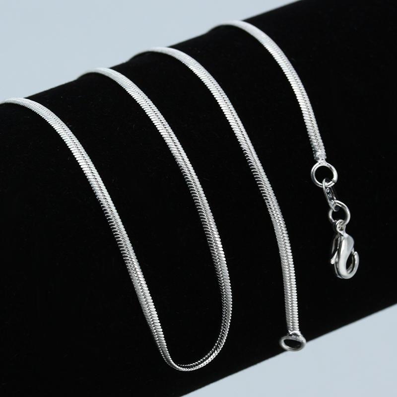 3979132eef02 Gifs de collar de la cadena de moda plana serpiente