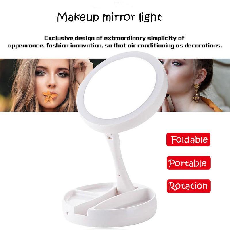 Battery Led Makeup Mirror Light, Battery Makeup Mirror