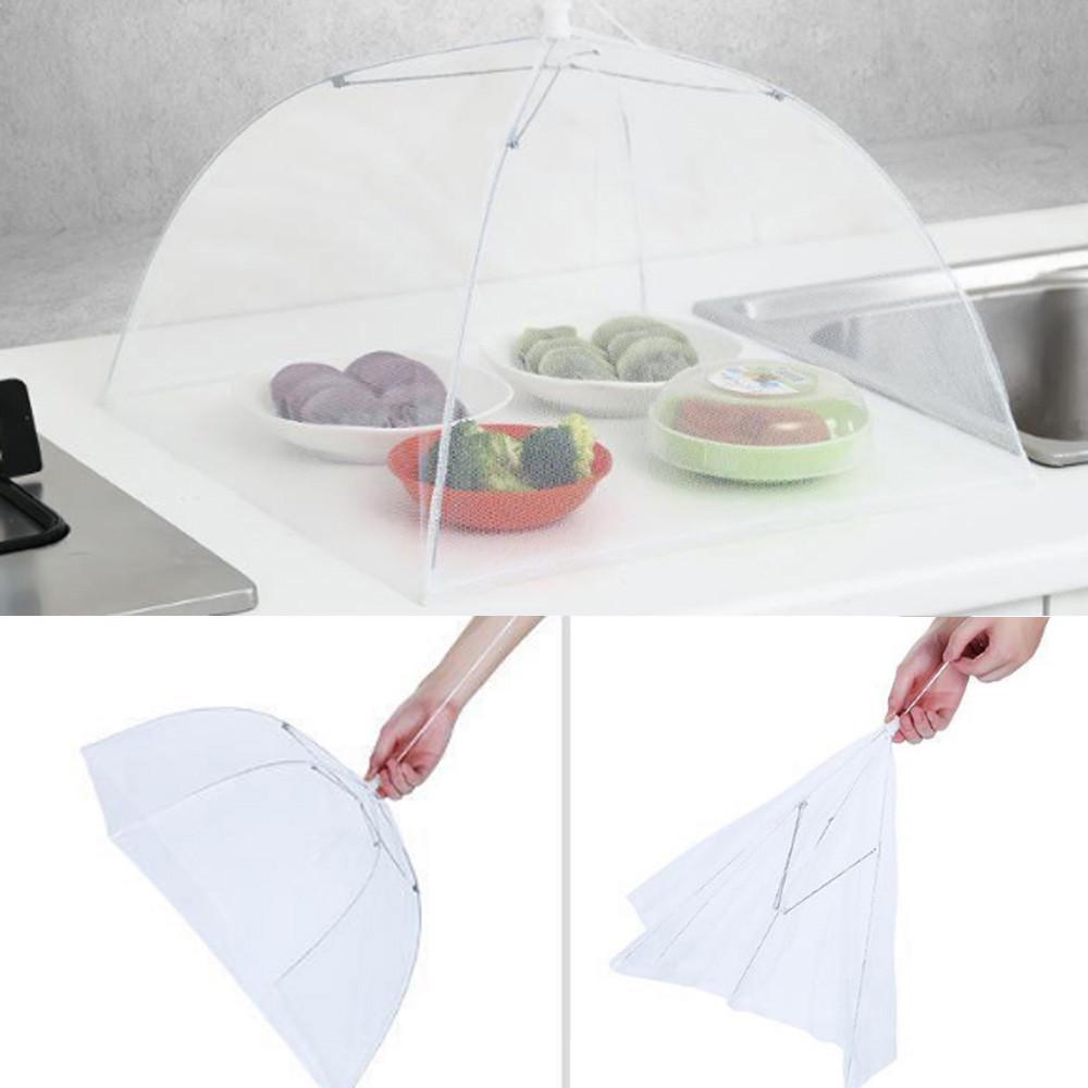 Pliable Parapluie De Style Anti Fly Moustique Table Couvre De La Couverture De Repas Maille Couverture De Nourriture Pique-Nique D/ôme Couverture De Nourriture En Plein Air Protecteur De Nourriture.