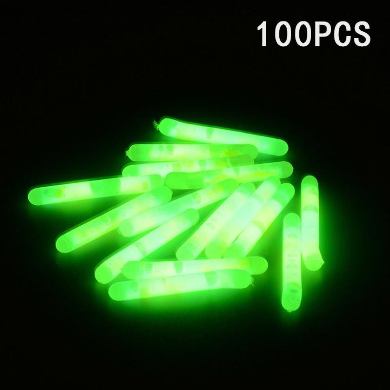 on Night 4.5*39mm Fluorescent Light Lightstick Dark Glow Stick Fishing Float