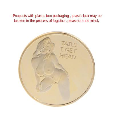 Moneda Suvenir Bitcoin, diametru 40 mm, in cutie de plastic