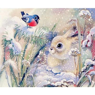 Dove Full Drill DIY 5D Diamond Painting Embroidery Cross Stitch Craft Decor Gift