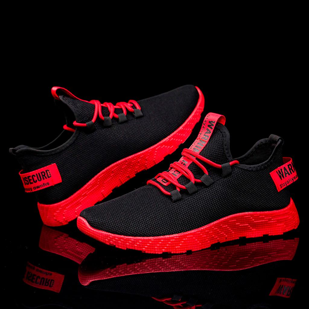 Men's Casual Shoes Fashion Male Flying