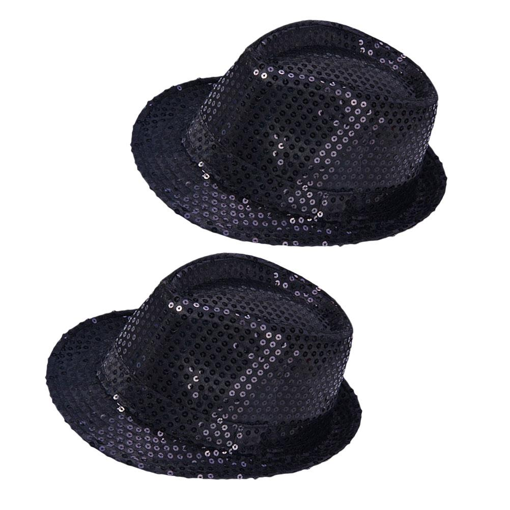 Adult Reversible Sequin Cap Hat Mens Ladies Retro Gangster Fancy Dress Accessory