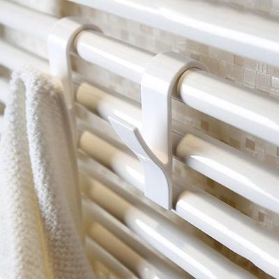 High Quality Towel Rack Radiator Coat Hook Hanger Bath Hook Reinforcement Temperature Resistant Non-slip Fixed Hook