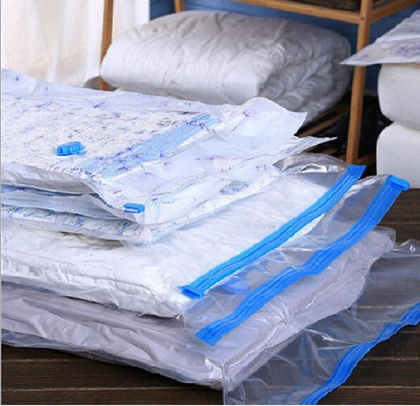 Вакуумный мешок складной Организатор путешествия одежду хранения сумку экономия пространства печать сумки фото