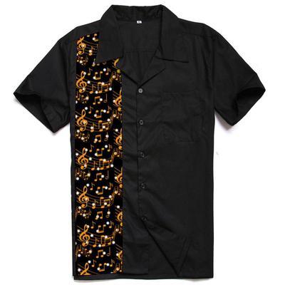 f4945909d21d67 Koszula męska z krótkim rękawem na co dzień Slim Fit Button Tops Koszulka z długim  rękawem