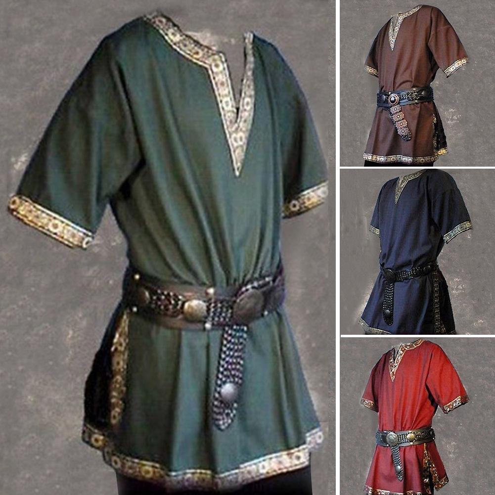 BROWN SLEEVELESS BASIC TUNIC Roman-Viking-Re-enactment-Dark Ages ALL SIZES