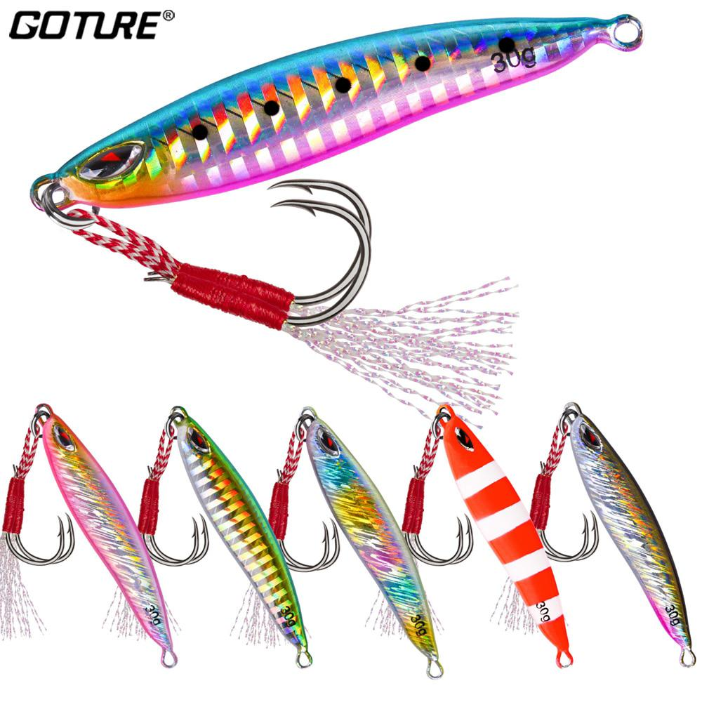 5pcs//set Lead Hook With Feather Fishing Tackle Lure Baits Lead Jig JiggingHead