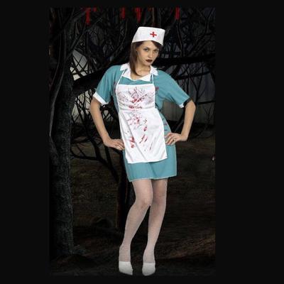 Хеллоуїн криваві лікар медсестра костюм жінок дами партії плаття фантазії  вбрання 567b66bcd333c