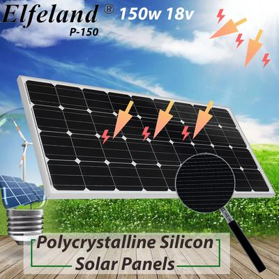 5w 12v Polycrystalline Cells Solar Panel Solar Panel Power Bank With 2 Alligator Clips And 4m Cable Buy At A Low Prices On Joom E Commerce Platform