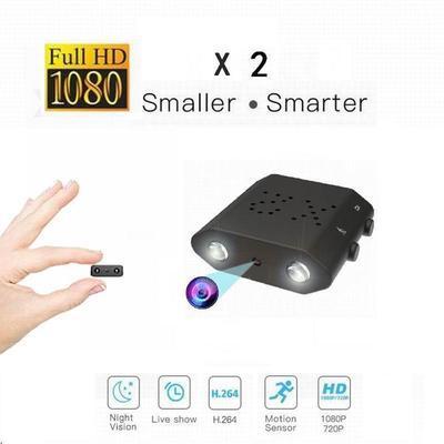 Mini Hidden Camera 1080P Full HD Infrared IR-CUT Camera Night Vision Micro