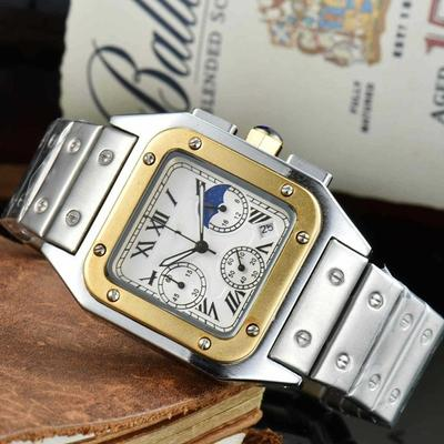 Men's High-end Watch 6-pin Business Multi-function Quartz Watch Gift