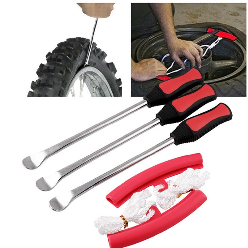 2pcs Tire Iron Spoon Lever Tool For Bike Bicycle Repair Tool High Quality