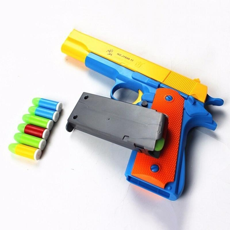Hot sale water gun Ak 47 toys, nerf pistol, electronic toys emitting bursts  of up to 8 meters away, free shipping-in Toy Guns from Toys & Hobbies on ...