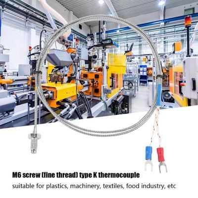 1M 15mm K Type Thermocouple Control Temperature Controller 0-600℃ Sensor Probe