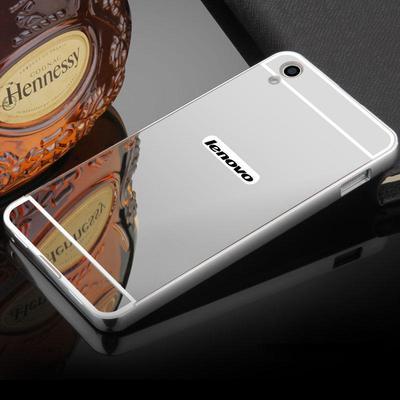 Lenovo Case Aluminum Metal Frame Bumper Mirror Case