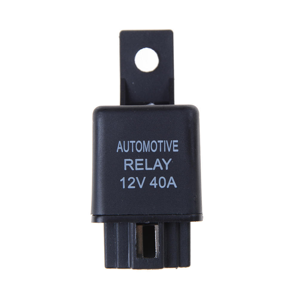 1Pair x Car Truck Auto 12V 30A 30 AMP SPST Relays 4 Pin with 4 Wire Socket