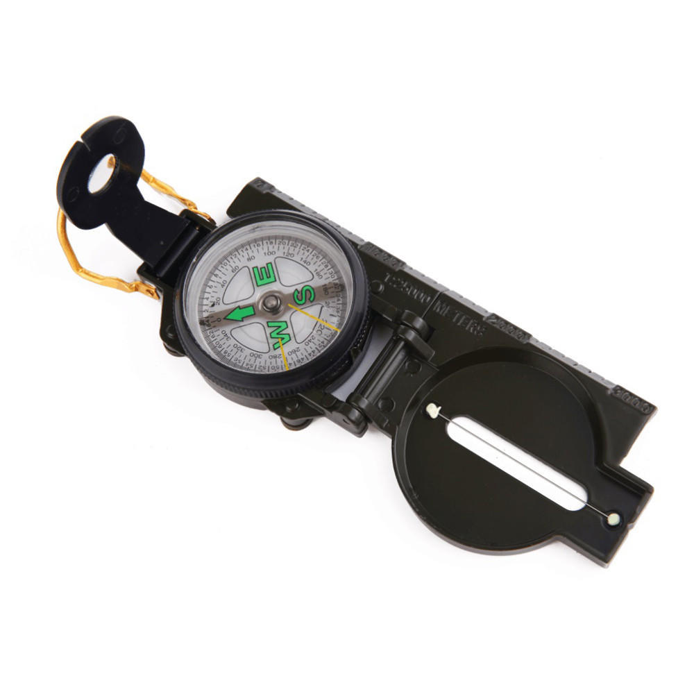 Metal Pocket Army Style Compass Military Camping Hiking Survival Marching New Us