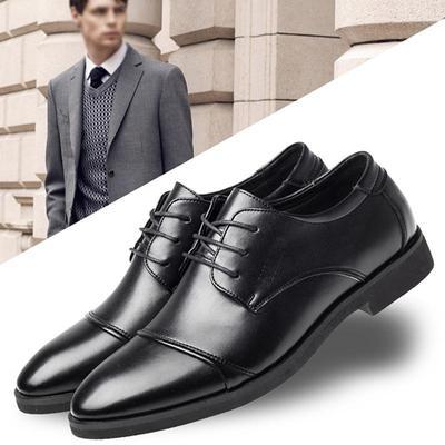 c50bd1c8 Moda męska Wiosna i jesień Klasyczne garnitury Casual PU skórzane buty