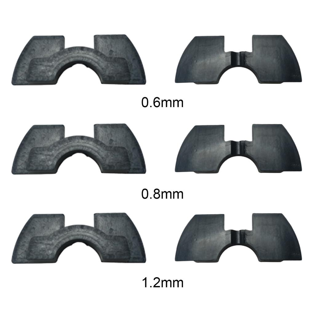 3pcs Rubber Vibration Dampers Replacement Accessory Parts for Xiaomi Mijia  M365 Electric Scooter