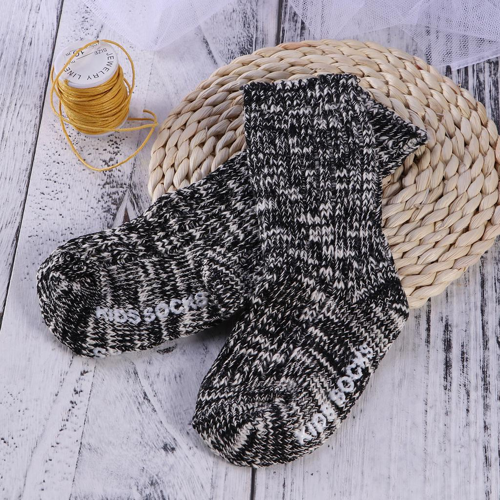 Baby knitting wool sleeping bag in autumn and winter-JT