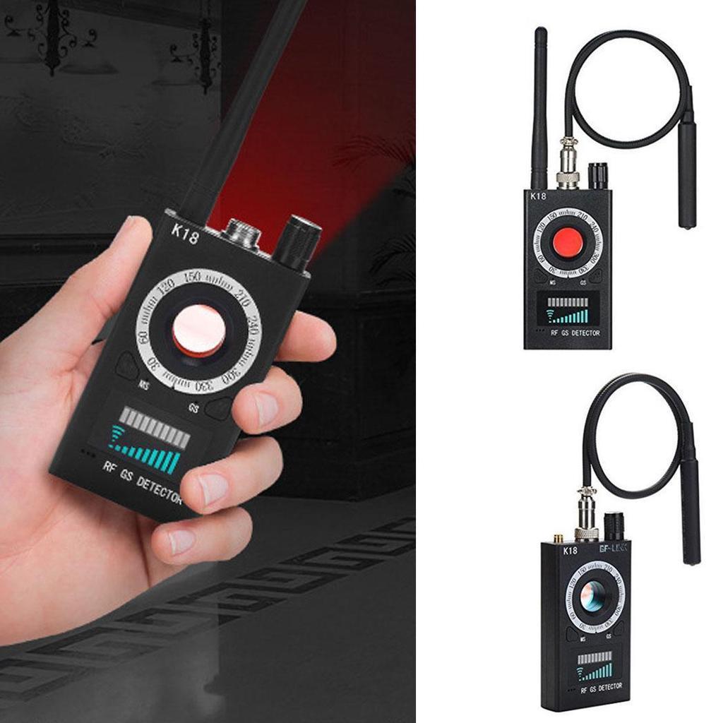 K18 Anti-spy GSM Camera Detector GPS Signal Microphone RF Lens Tracker