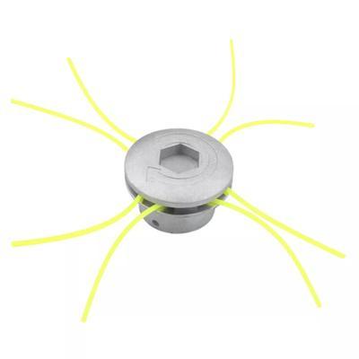 Grass Trimmer Head Universal Lawn Mower Brush Cutter Aluminum Cutting Line J