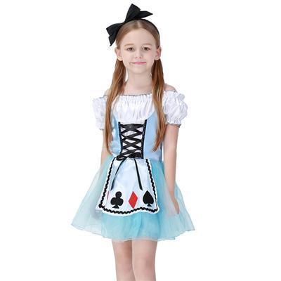 Дівчата короткий рукав Принцеса плаття косплей костюм костюм з головою Хооп  для дівчаток висота 95- 58c0aaa7feded
