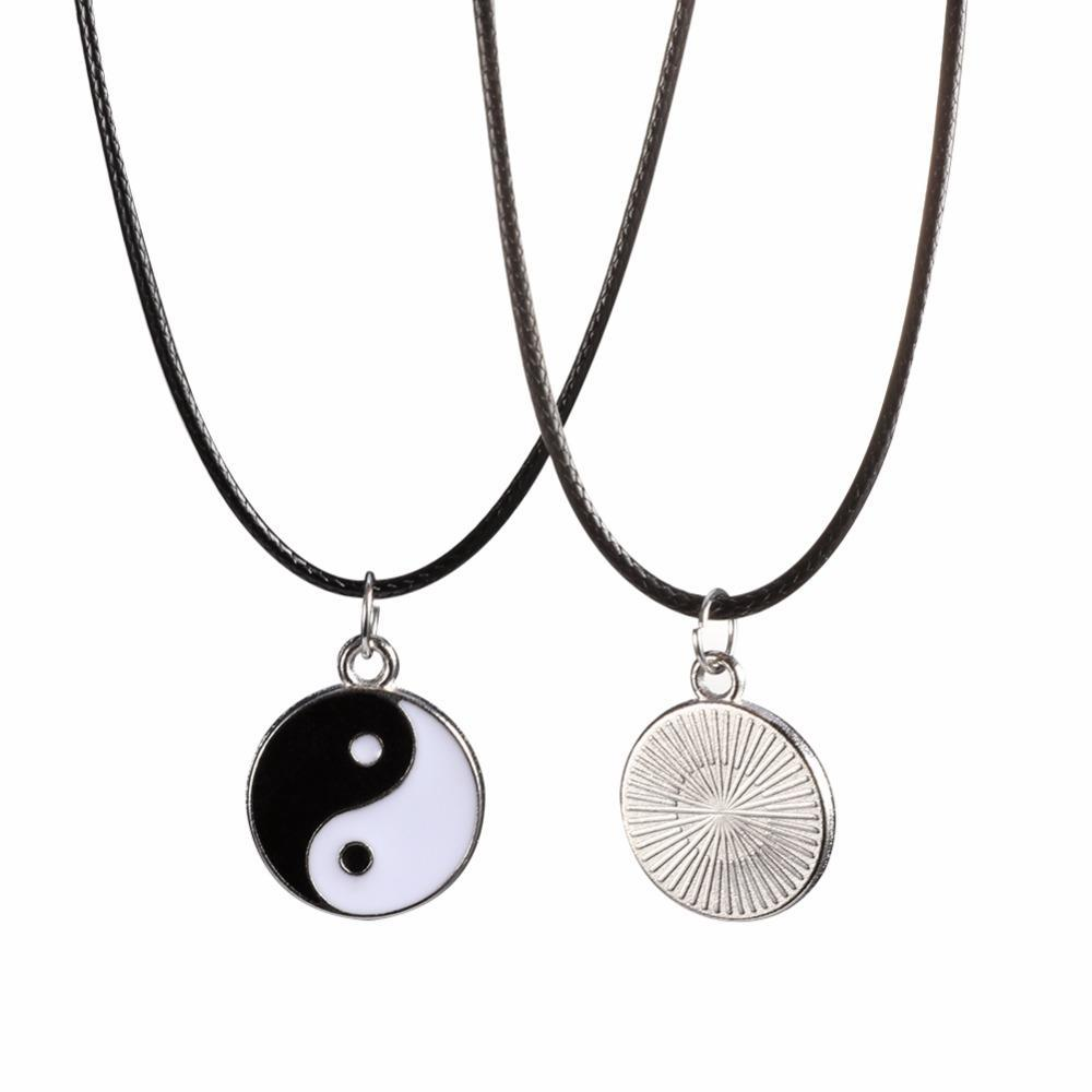 $ 5.00  8 pcs charm four leaf clover Fashion lovely Taiji style pendants hot