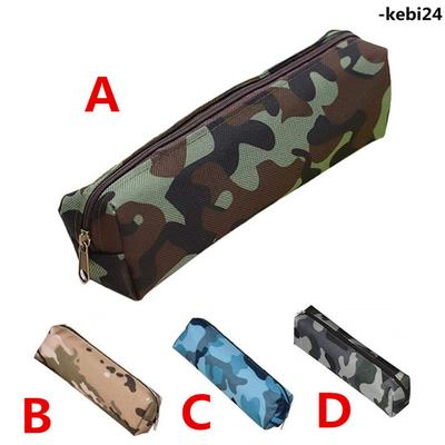 Fashion Camouflage School Supplies Pouch Pencil Case Stationery Pouch Pen Bag