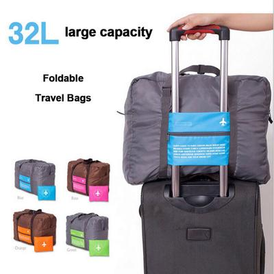 Women /& Men Foldable Travel Duffel Bag Black White Alphabets Numbers Type For Luggage Gym Sports