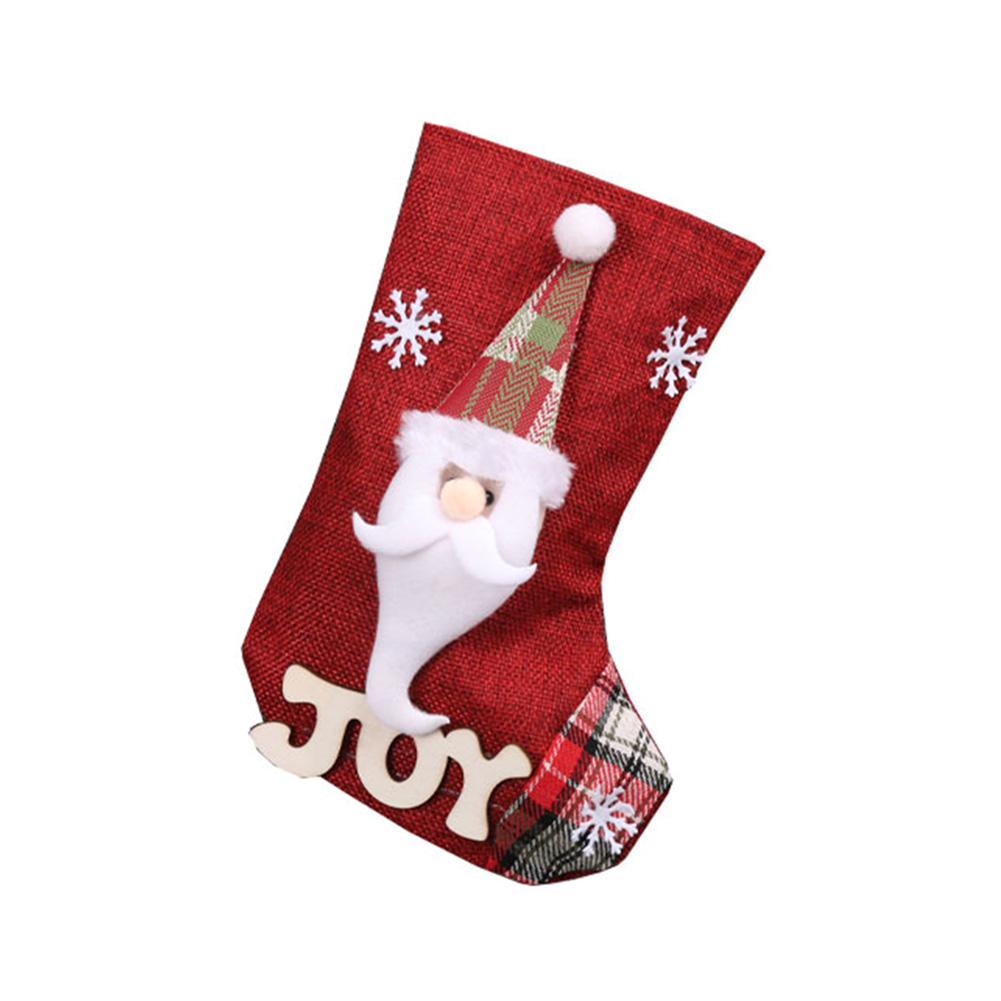 Christmas Stocking Candy Present Bag Ornament Props Santa Claus Snowman Elk Socks For Home Xmas Tree Hanging Decor Pendant Kids Gift Party Supplies Buy At A Low Prices On Joom E Commerce Platform