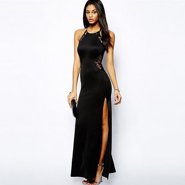 Сексуальные вечернее платье