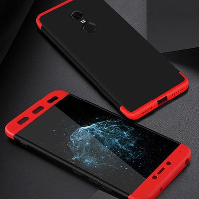 3 IN 1 Removable Phone Case For Redmi 4X 360 Full Protection Capa Hard Matte PC