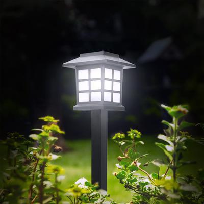3//4//5//8-LED Solar Power Buried Light Under Ground Outdoor Pathway Garden Lamp