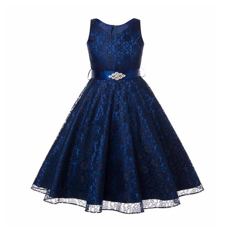 dc2ff4f4ab70 Corteo vestito ragazza di fiore bambini compleanno sposa damigella d ...