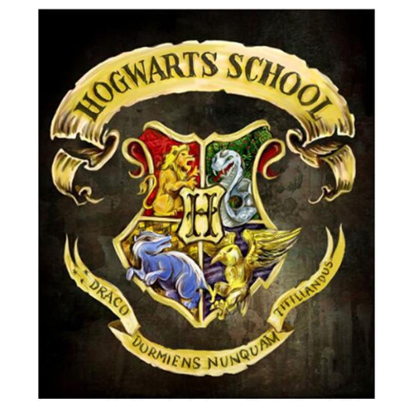 5D Diamond Painting Full Drill Embroidery Best Gifts Harry Potter School Logo