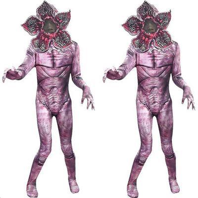 Descendants 3 Cosplay Carlos Jay Demogorgon Kinder Party Cosplay Kostüm Jumpsuit