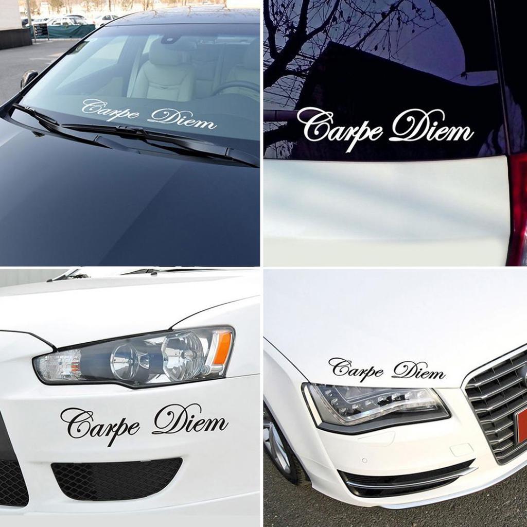 Us /_ ser Feliz Letras Refletivo Carro Veículo Corpo Janela Decalques Adesivo Decoratio
