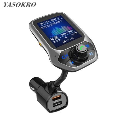 BT Car USB Charger FM Transmitter MP3 Player Quick Charge QC3.0 Handsfree