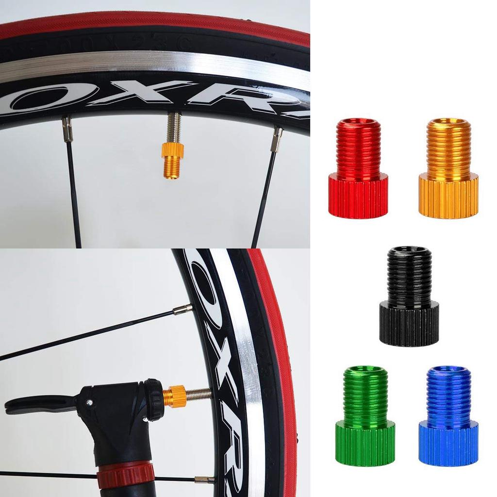 Adattatore Speciale per Valvole da bicicletta Da PRESTA a SCHRADER compressore