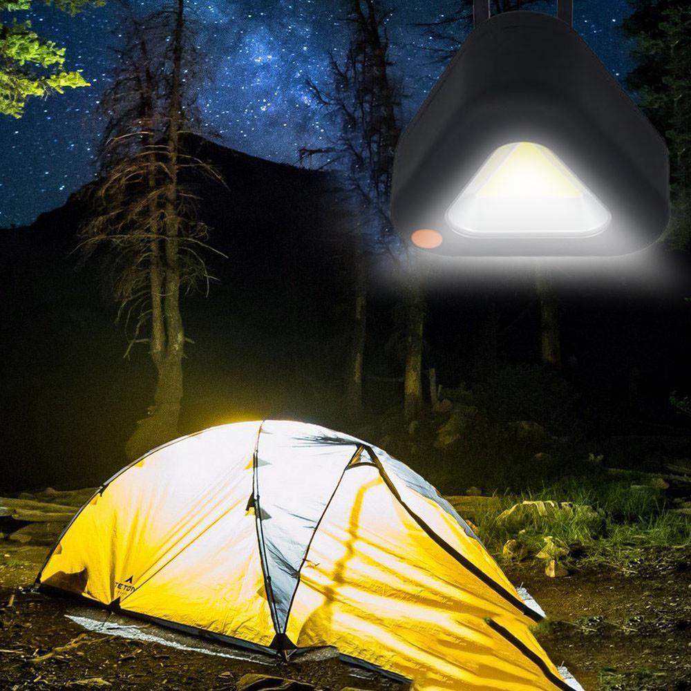 DEL Ampoule Tente Pêche Lanterne extérieure Lampe de secours Camping Hanging Randonnée