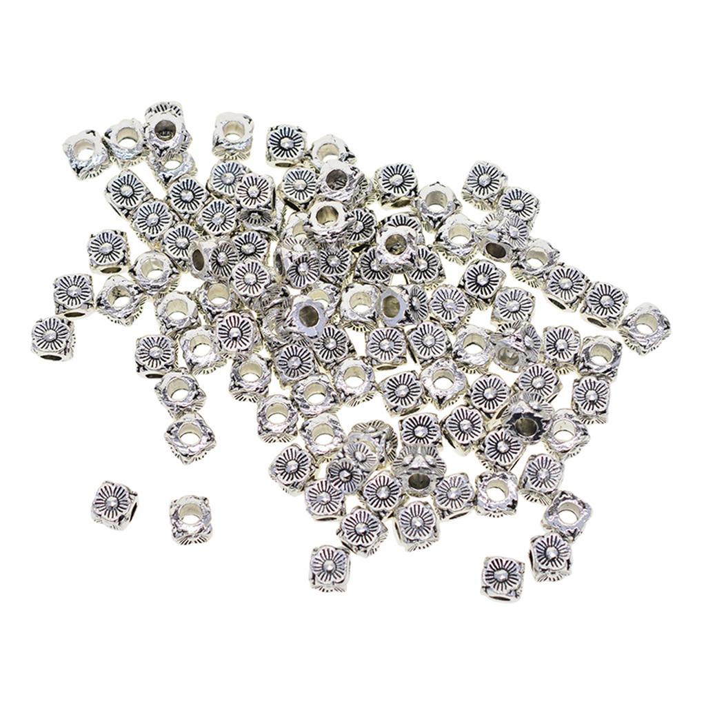 Set of 50 spacer beads 6mm Spacer Beads Spacer Beads Small Spacer Beads