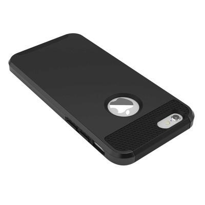 a7f44a45daf Híbrida a prueba de golpes duro y suave resistente funda para Apple Iphone  6 6S 4