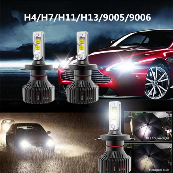 2 PCS CREE 9003 H4 20000LM 180W LED Car Headlight Kit High//Lo Turbo Light Bulbs