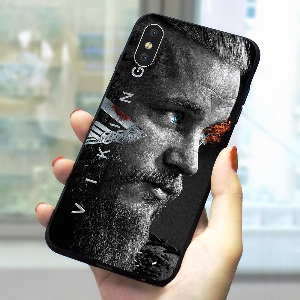 Ragnar Lothbrok Vikings Phone Case for iPhone XS Cover X XR 11 Pro 5 5S SE 7 8 Plus Soft TPU