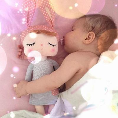 Metoo Angela Sleeping Birthday Girl Stuffed Plush Baby Toy Doll Christmas Gift