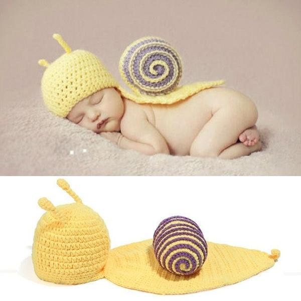 1dab38087 Lana tejidos a mano ropa fotografía caracol ropa para bebe HB181 ...