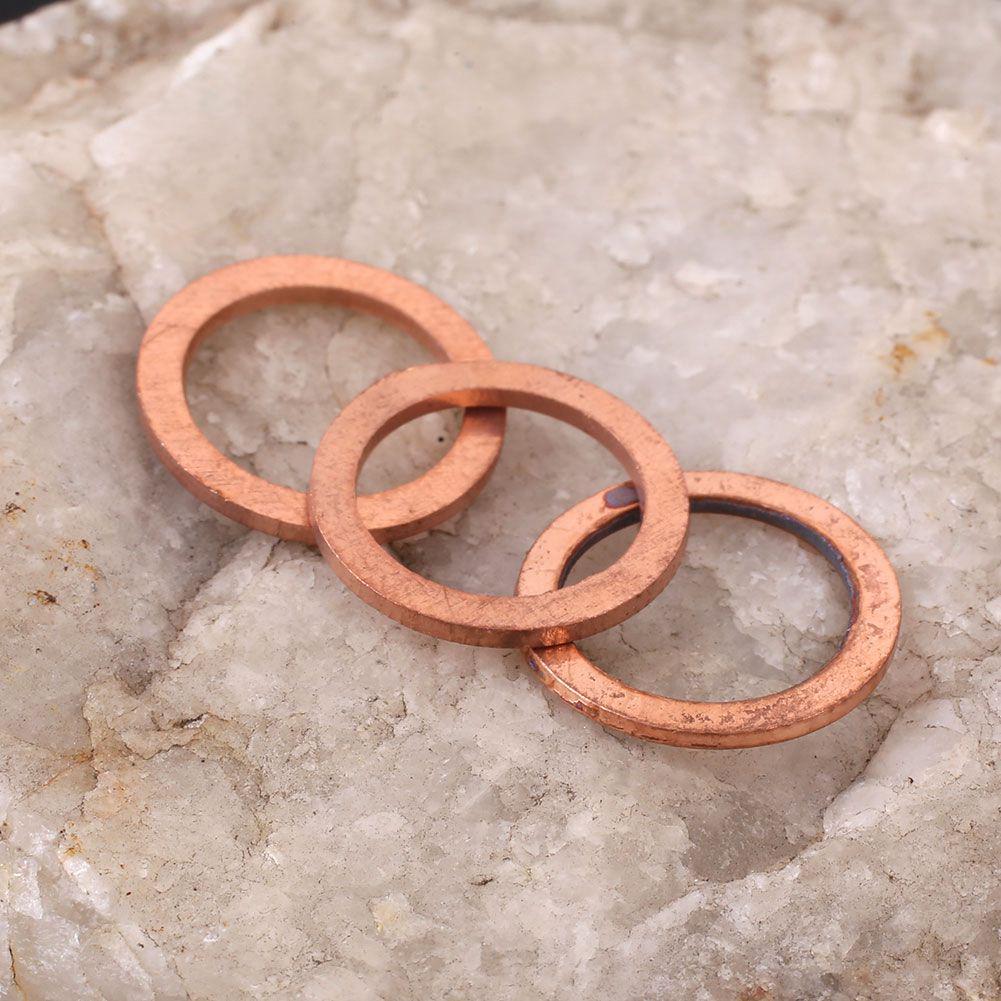 Oil Drain Plug Banjo 10mm M10 Copper Crush Washers Turbo 100 Piece Brakes